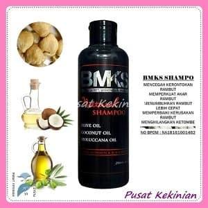 Shampo Kemiri BMKS SHAMPOO HITAM KEMIRI BPOM Penumbuh Rambut