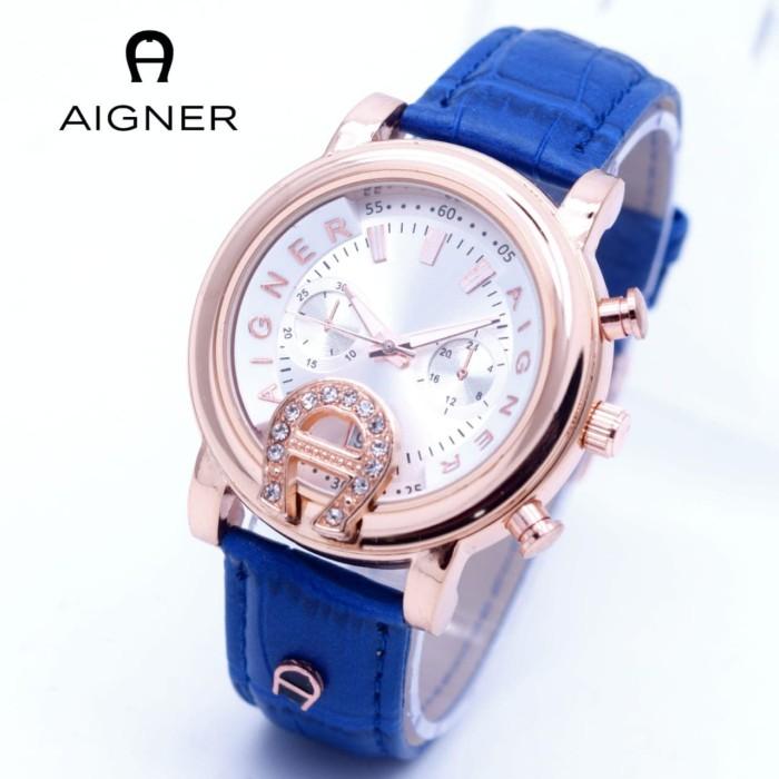 harga Jam tangan wanita aigner baridona polos kulit bari Tokopedia.com