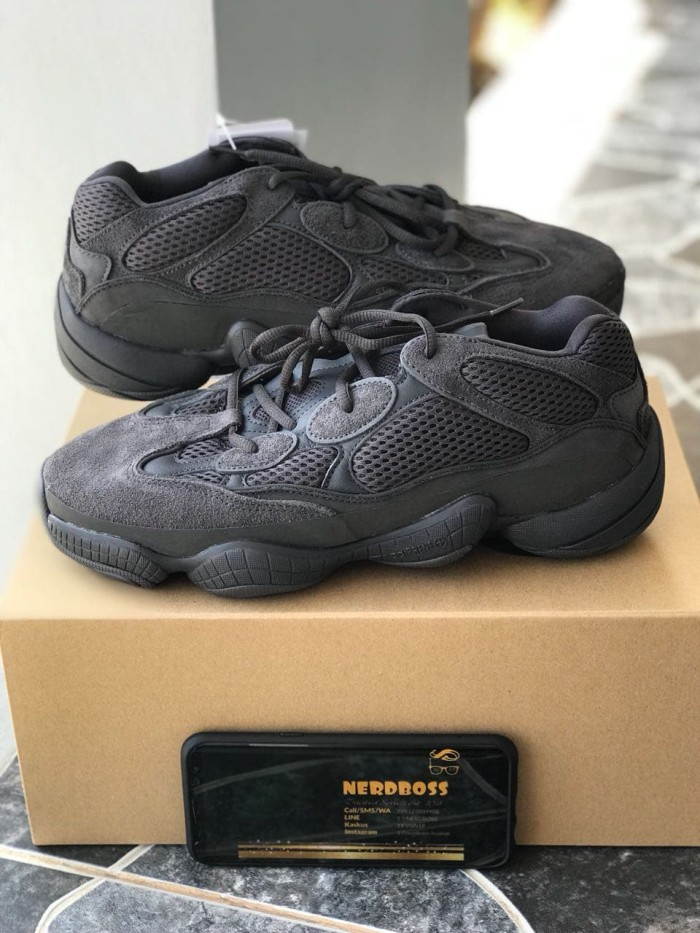 new style 057cb c082c Jual Adidas Yeezy Blush 500 Utility Black BNIB 100% Authentic ANTI FAKE!! -  Kota Palembang - Kevin Winata | Tokopedia