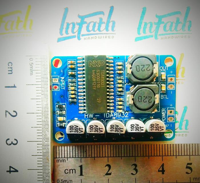 Foto Produk InFath - TDA8932 35W Mono class D digital amplifier dari InFath