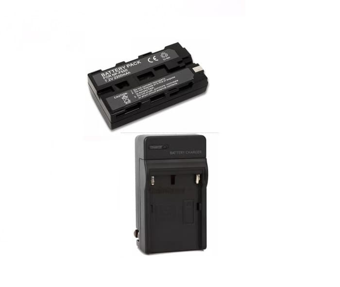 harga Paket baterai dan charger untuk led kamera light Tokopedia.com