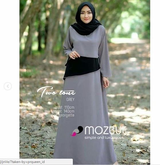 Gamis maxi dress terusan baju maxy wanita pakaian busana pesta elegan 3