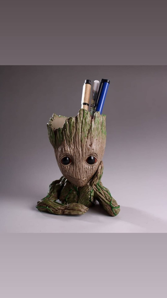 harga FIGURE BABY GROOT POT GUARDIANS OF THE GALAXY MARVEL AVENGER INFINITY Tokopedia.com