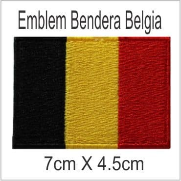 Belgia Emblem Bordir Badge - Blanja.com