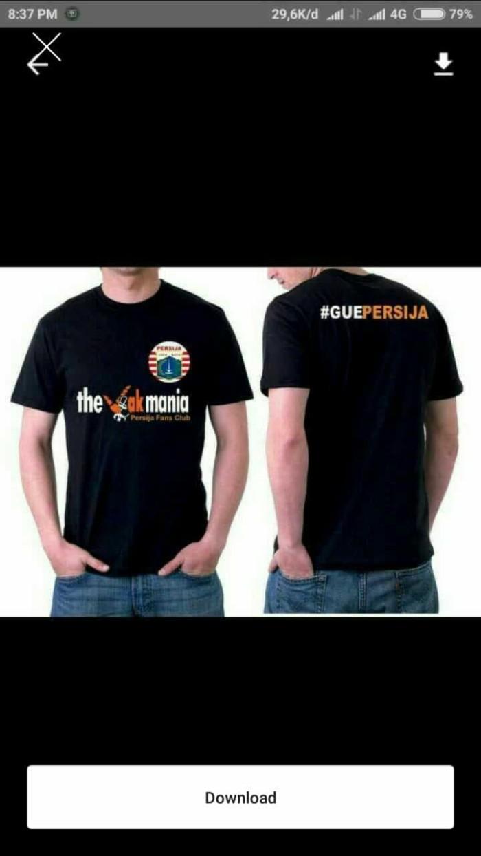 Jual Tshirt Baju Kaos PERSIJA JAKARTA Keren Kota Bekasi Anma Srore