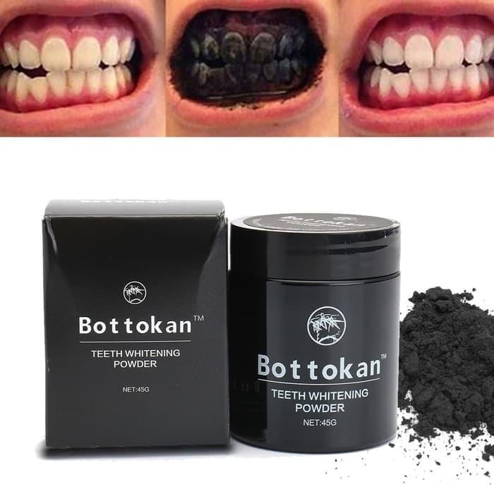 Jual Pemutih Gigi Bottokan Tooth Powder Activated Charcoal