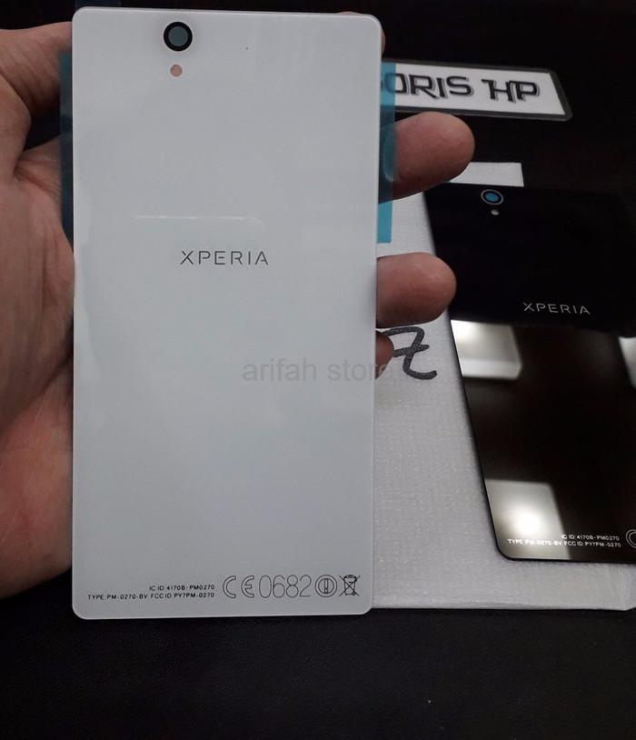 official photos 4b70b 216b7 Jual Promo Back Cover Sony Z Sony Xperia Z LTE C6602 C6603 5 0 inchi BackD  - Jakarta Selatan - Arifah Store | Tokopedia