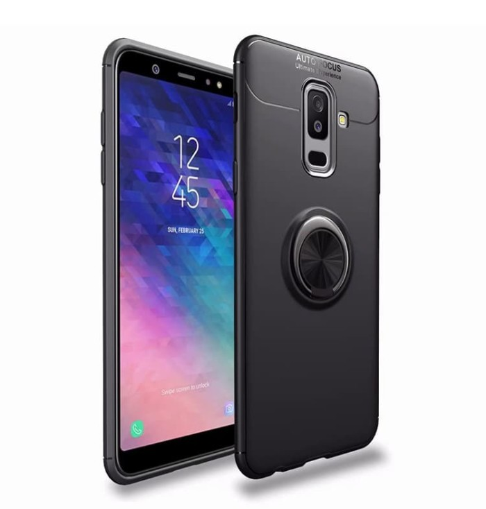 Jual Samsung Galaxy J6 Plus 2018 Invisible Iring 360 Soft Case Auto