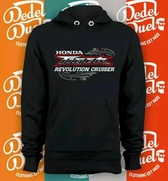 harga Jaket sweater hoodie honda tiger revolution cruiser Tokopedia.com