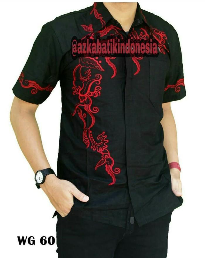 Jual Model Baju Kemeja Batik Modern Pria  68f4ff0985
