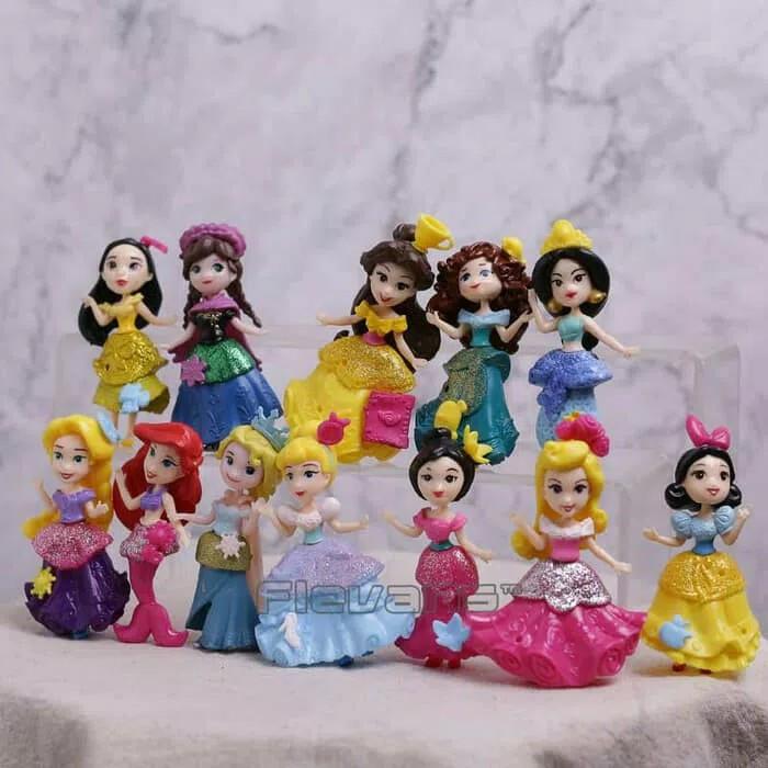 Jual Figure Princess Disney Cantik 12 Pcs Hiasan Kue Ultah Jakarta Selatan Belanja Mainan Tokopedia