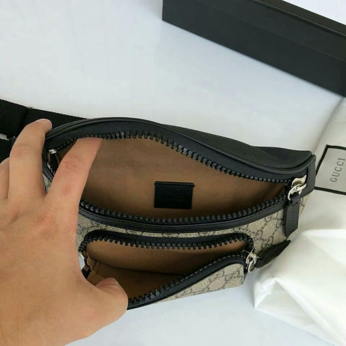 41886fec0f2 Jual Gucci GG Supreme Canvas Belt Bag Supermirror - fancyclub ...
