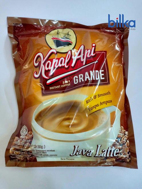 Foto Produk KAPAL API 3 IN 1 GRANDE Java Latte 20's dari Bilka Supermarket