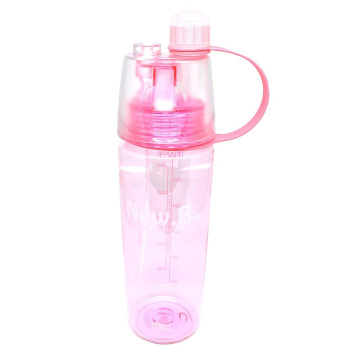 Botol Minum New B Sport Spray Water Bottle 600 ml botol minum semprot