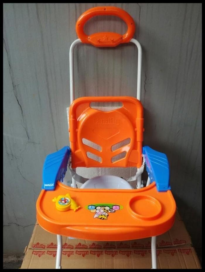 Meja Makan Bayi Family \U002F Chair Stroller Cs - 8288 - Kuning