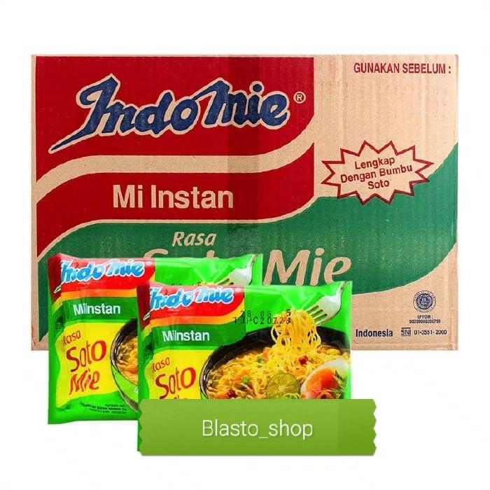 harga Indomie soto mie kartonan khusus gojek / grab Tokopedia.com