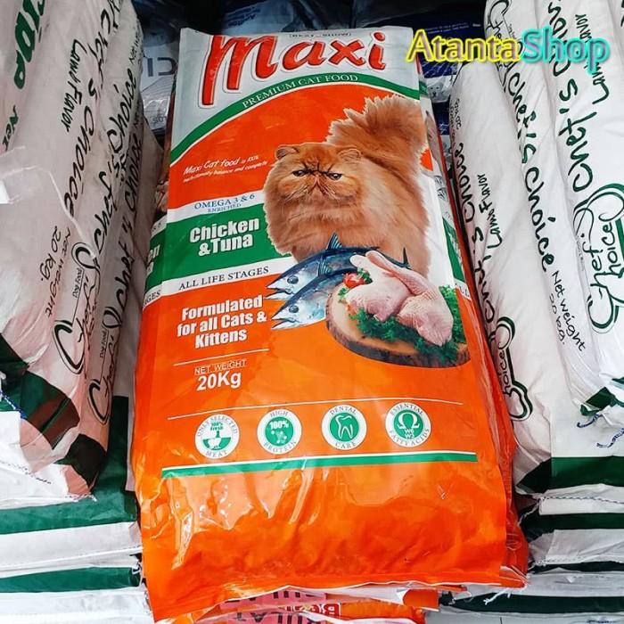 harga Maxi - 20kg chicken tuna cat food makanan kucing Tokopedia.com