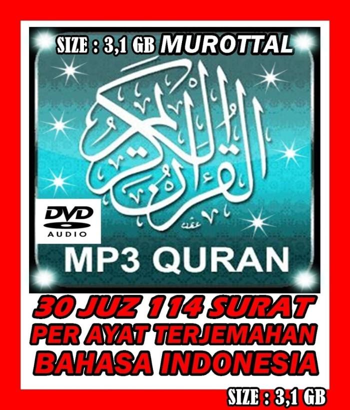 Jual MP3 AL QURAN DVD AUDIO DAN TERJEMAHAN BAHASA INDONESIA 30 JUZ -  aynastores | Tokopedia