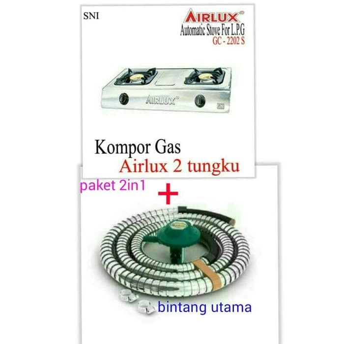 Info Kompor Gas Airlux Travelbon.com