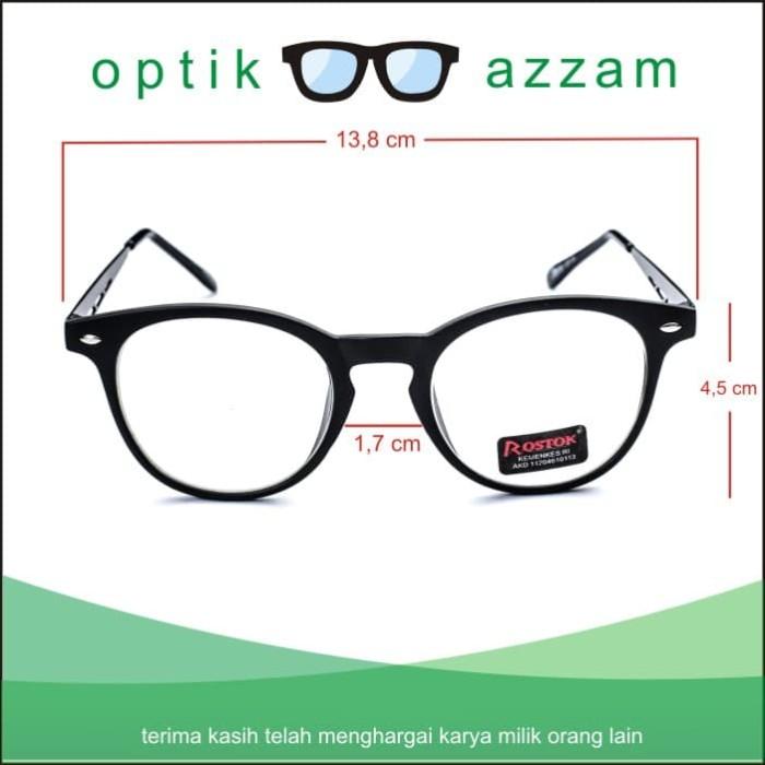 ... Frame Kacamata Pria Wanita Korea Antiradiasi Minus Normal Plus -  Blanja.com ... 026b8a6882