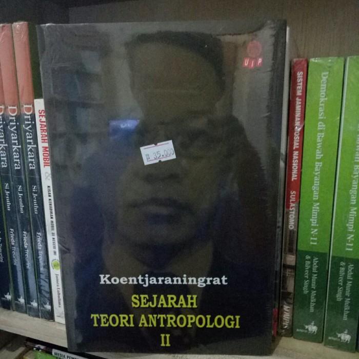 harga Sejarah teori antropologi 2 - koentjaraningratko Tokopedia.com