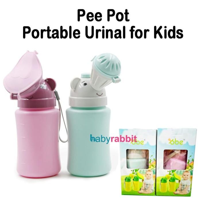 Foto Produk Portable Urinal Pee Pot Bottle / Botol Pispot Portabel dari Baby Rabbit