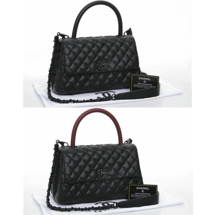 a68ab061e9e1 Jual Chanel Coco Handle So Black - Lysa_Collection | Tokopedia
