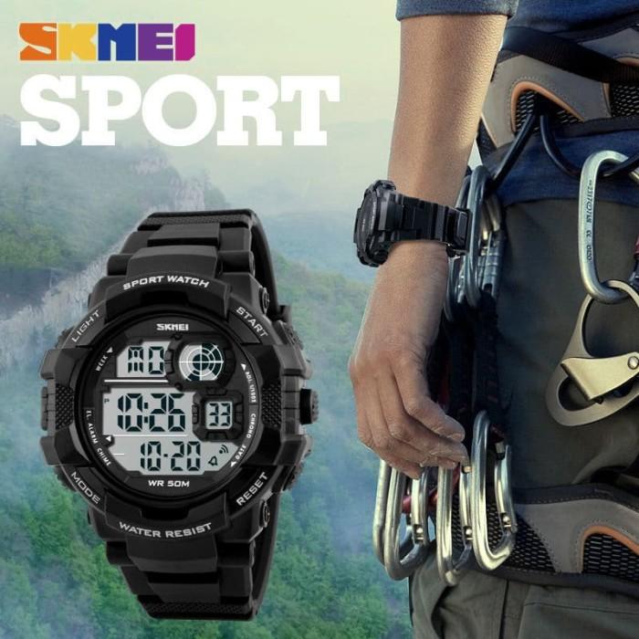 Jual Jam Tangan Pria Keren Original SKMEI Anti Air Casio Sport LED ... 49d29a048a