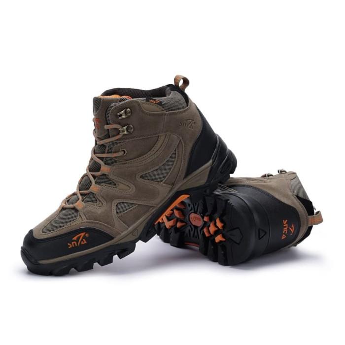 harga Sepatu gunung snta 491 brown org boots hiking/fashion/trekking/outdoor Tokopedia.com