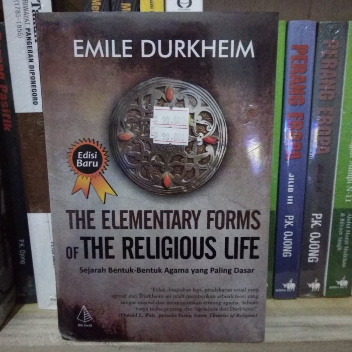 harga The elementary forms of the religious life - emile durkhem Tokopedia.com