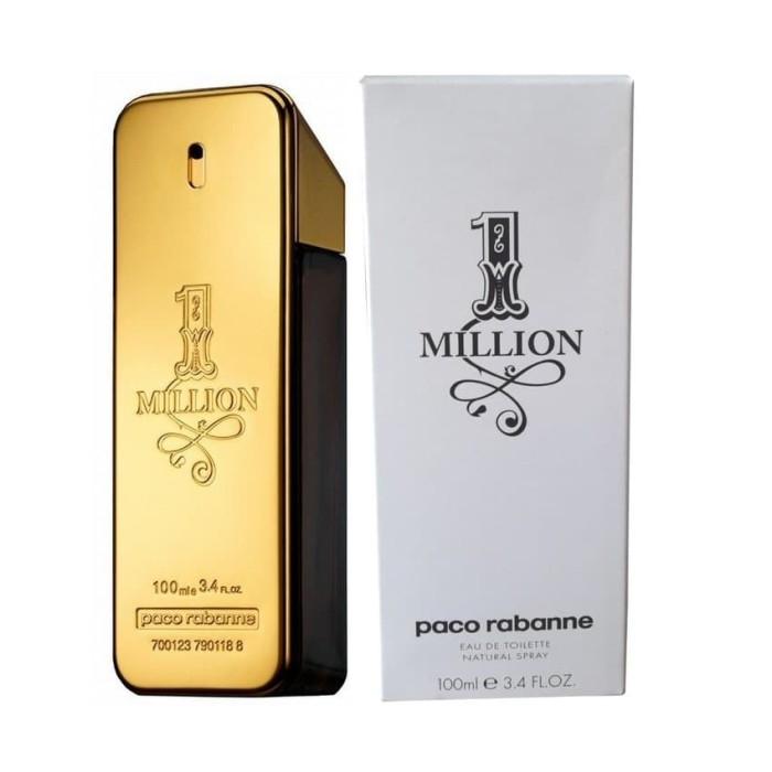 PARFUM ORIGINAL PACO RABANNE 1 MILLION MEN EDT 100ML TESTER NEW BPOM