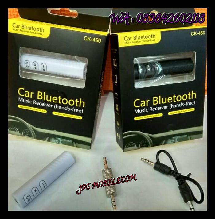 Car Bluetooth Music Receiver (Handsfree)_CK - 450 - Hitam