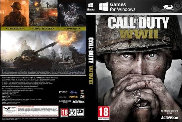 Jual Game Pc Call Of Duty World War 2 Kota Depok Gamez Gudang Tokopedia