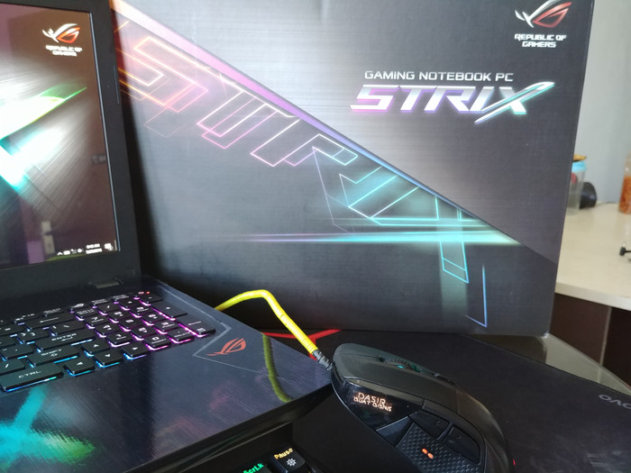 Jual Laptop Gaming Bener Asus ROG GL553VE i7 GTX 1050Ti Baru 1 Bulan BU -  Kab  Bandung - Dasir Buat Bisnis | Tokopedia