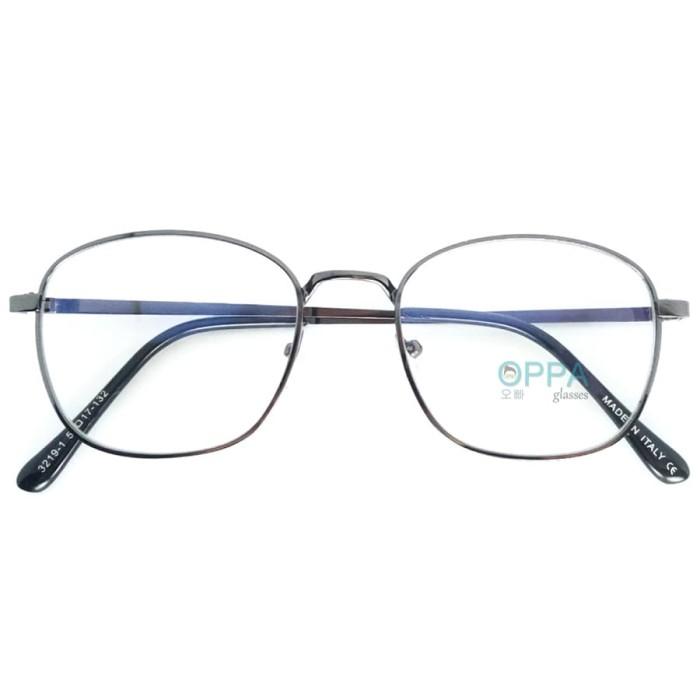 Jual Frame Kacamata Korea Pria Wanita Oppa Op06 Fbl Hitam Kotak ... 30a269bcc2