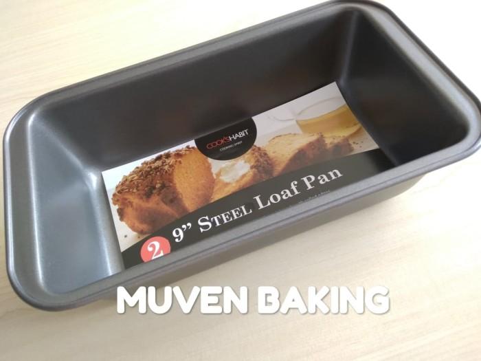 harga Loyang teflon roti premium tebal 23x14 / loaf pan bread anti lengket Tokopedia.com