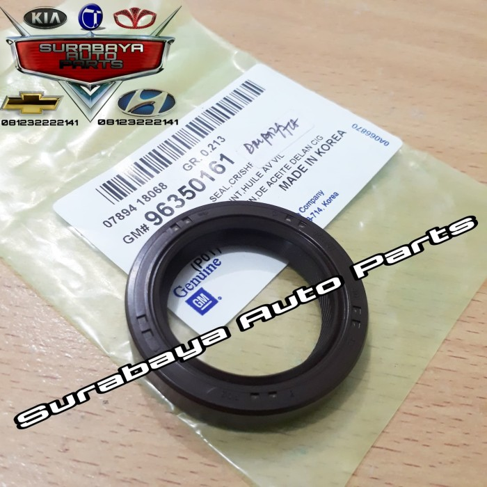 Jual Seal As Kruk Depan Chevrolet Aveo Kalos Lova Seal Crankshaft Chevrolet Kota Surabaya Surabaya Auto Parts Tokopedia