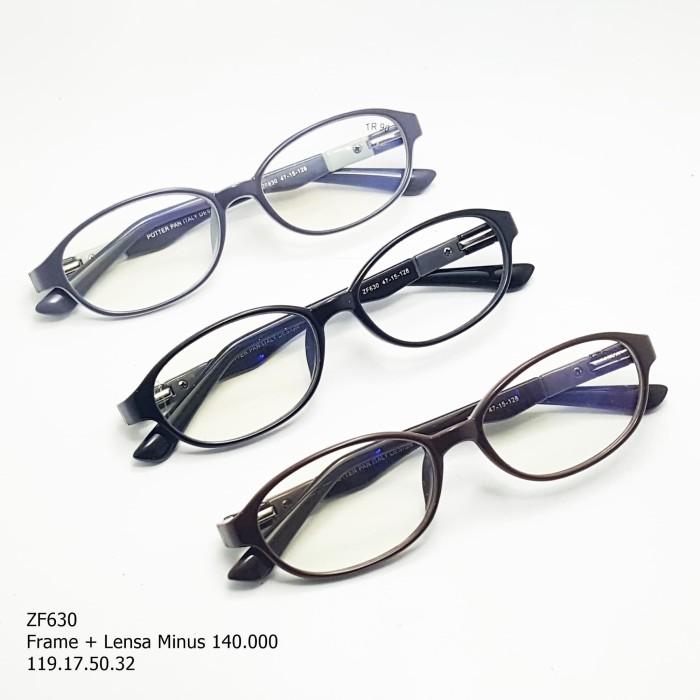 Jual frame+lensa minus normal kacamata anak anak oval unisex - Abu ... 99bcca90ca