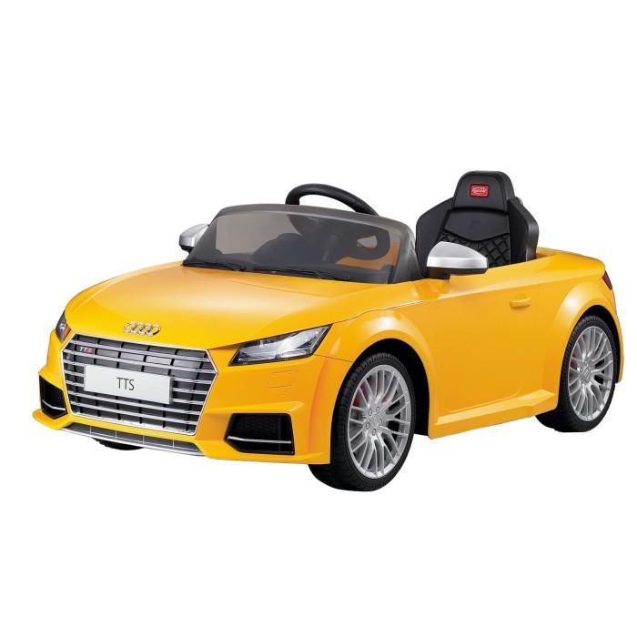 harga Rastar 82500 licensed audi tts electric rc ride on toy yellow Tokopedia.com