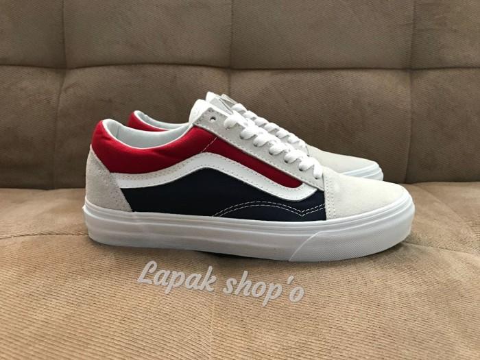 Jual Vans old skool Retro blocked white red Original Kab. Cianjur Lapak shop'o | Tokopedia