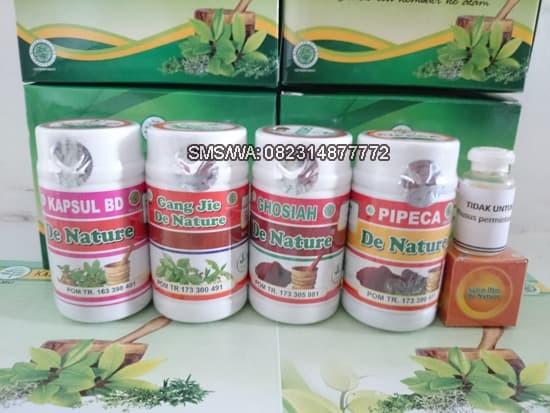 Foto Produk Kapsul Obat Perontok Kutil Kelamin Paket Ampuh Untuk Pria De Nature dari Pusat De Nature Herbal