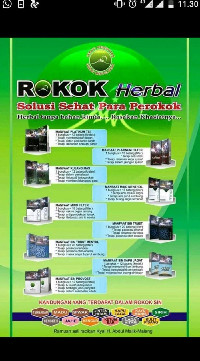 Rokok Herbal Sehat Sin Provost 19 Perslop Update Daftar Harga Sinergi Porvost Perslof Kretek Member