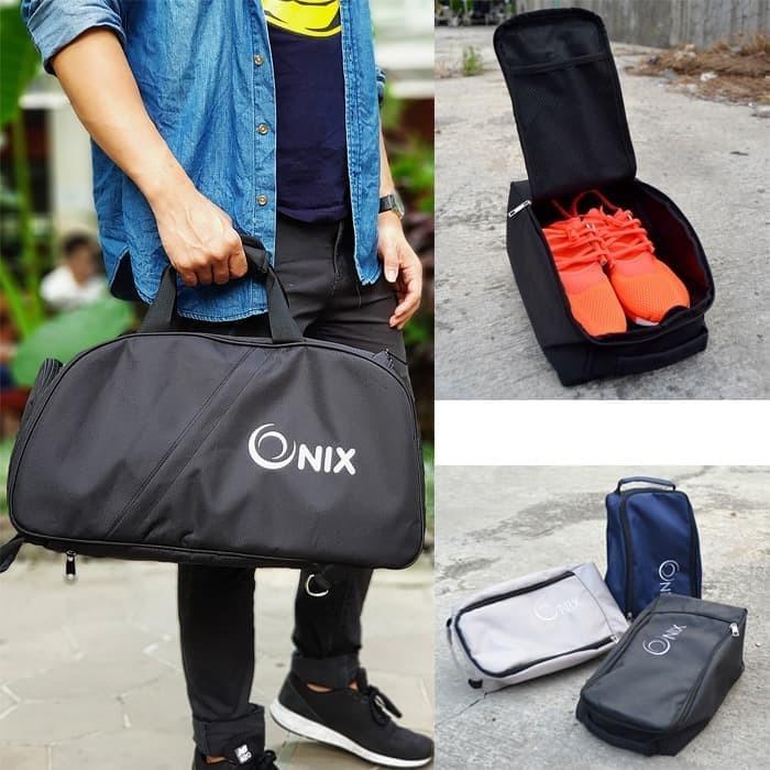 Jual Murah Tas Travel Onix + Tas Sepatu Onix (Paket Murah) di ... f8dd4986c263a