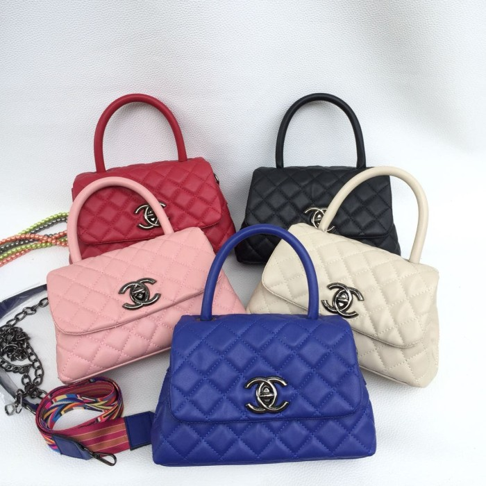 Jual Tas Chanel coco handle mini double strap - Orens  d36014fd56