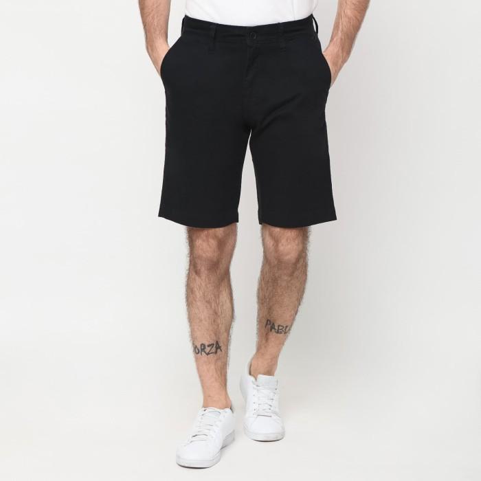 Police celana pendek chinos 20710138 hitam - hitam 33