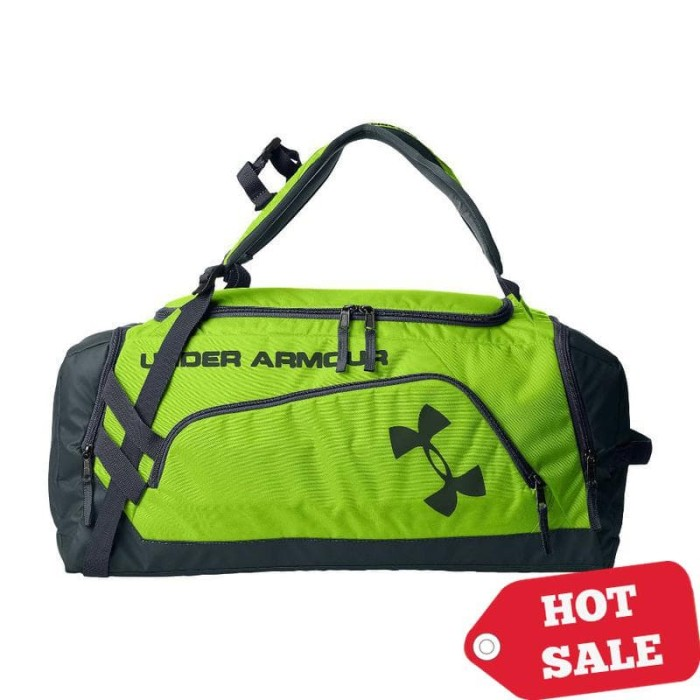 56ef66365b Jual Tas Fitness Gym Bag Multi Under Armour Storm Contain Green ...