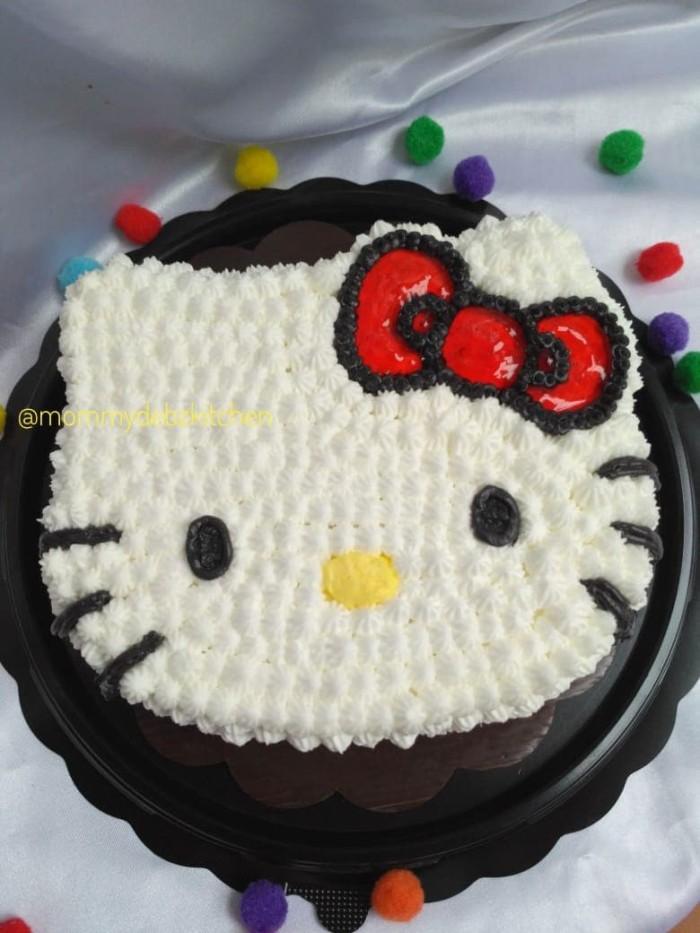 Jual Cake Birthday Karakter Hello Kitty Kue Ulang Tahun Surabaya Cookie Kab Sidoarjo Mommy Debz Tokopedia