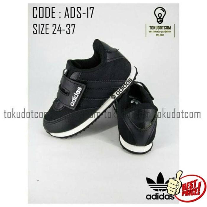 Sepatu Sekolah anak murah hitam polos