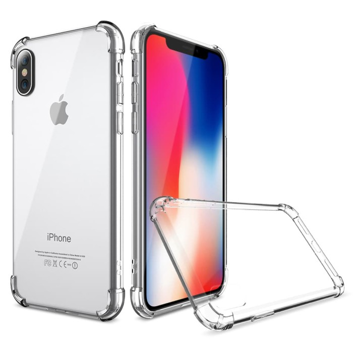 Jual Anti Crack Tpu Silicone Softcase For Iphone X Transparent