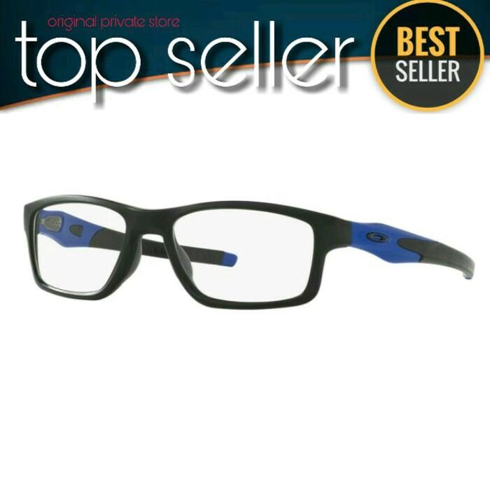 39575f45f20 Jual Oakley Optical Crosslink Trubridge OX 8090-0955 Satin Black ...